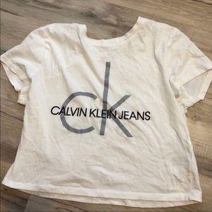Calvin Klein tee (worn once!)